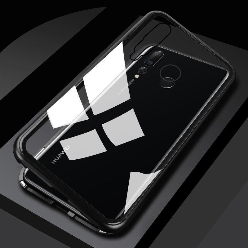 Магнитный чехол (Magnetic case) для Huawei Nova 4