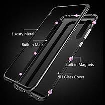 Магнитный чехол (Magnetic case) для Huawei Nova 4, фото 3