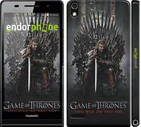 "Чехол на Huawei Ascend P6 Игра престолов 1 ""429c-39"""