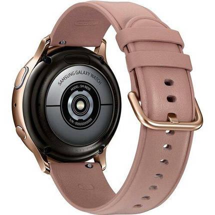 Смарт-часы SAMSUNG Galaxy Watch Active 2 40mm Stainless Steel Gold, фото 2
