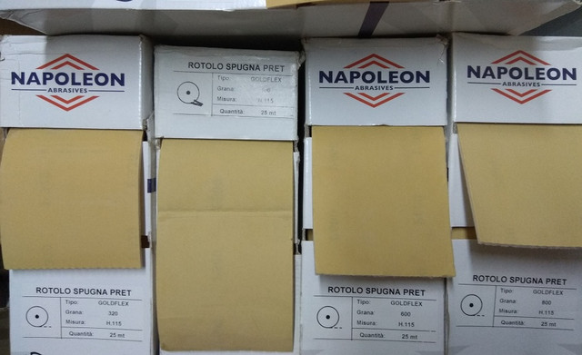 Наждачная бумага на поролоне NAPOLEON