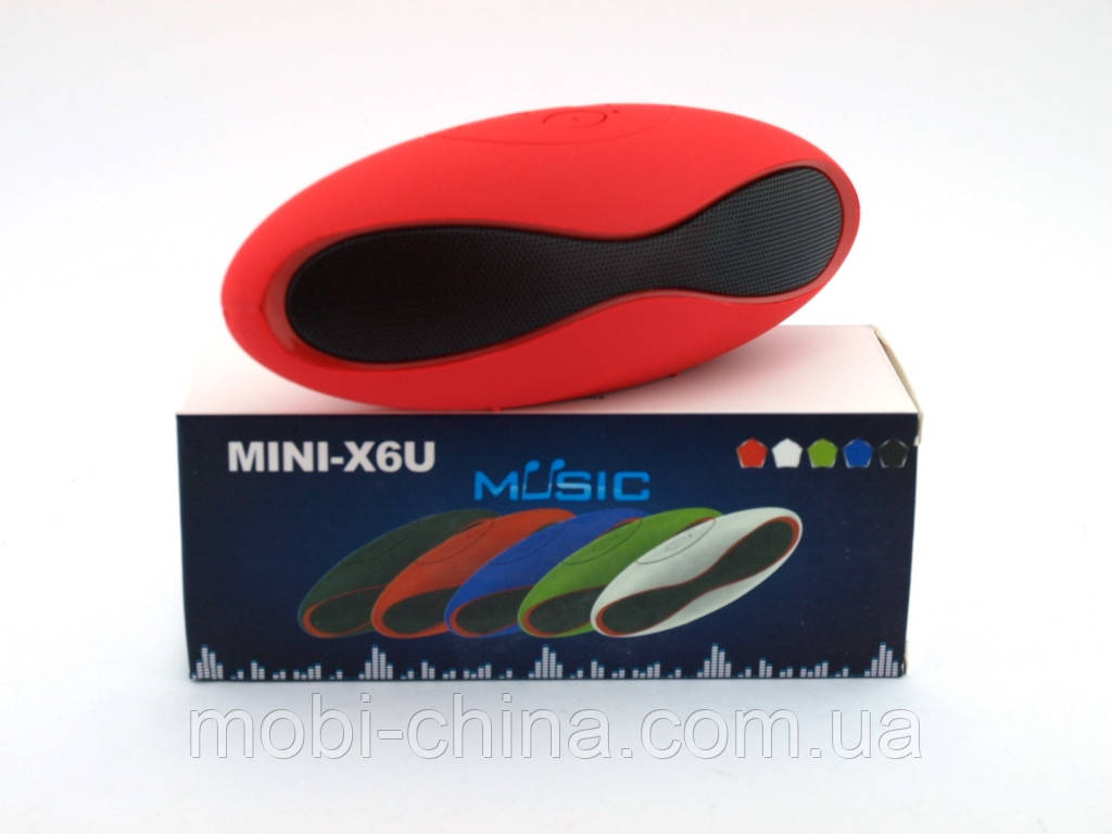 X6U mini копия by Dr.DRE, портативная колонка Monster beatbox Z169,красный