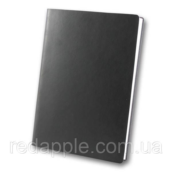 Ежедн. недат. А5 ЗВ-435 Frankfurt чёрный (интегральная обложка)