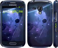 "Чехол на Samsung Galaxy S3 mini Планеты в синем космосе ""171c-31"""