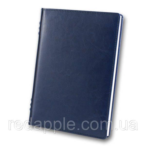 Ежедневник недат. А5 Французский переплёт ЗВ-433 Sarif синий