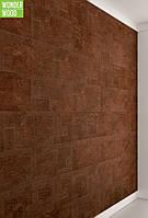 Настенная пробка листовая Wicanders Dekwall Malta Chestnut