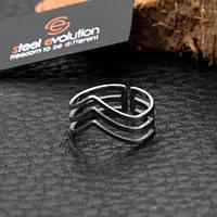 Кольцо на фалангу женское 6 мм 172422