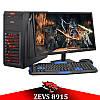 Недорогой Cовременный Игровой ПК ZEVS PC 8915 (Varian) Athlon X4 870K +RX 550 4GB + Монитор 21.5''