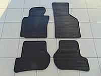 Коврики в салон резиновые для Volkswagen B6 05-/B7 11-/CC 08-/Tiguan 07-, Polytep, комплект 4шт