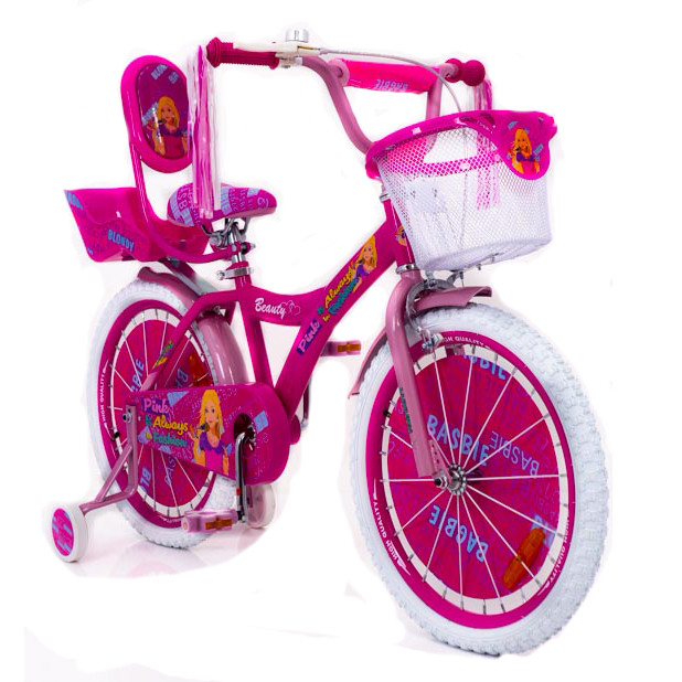 "Детский Велосипед ""BARBIE 20"" БАРБИ (Beauty-Бьюти)"