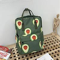 Сумка-рюкзак с авокадо и клубничкой