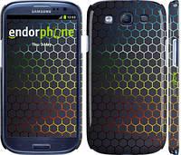 "Чехол на Samsung Galaxy S3 i9300 Переливающиеся соты ""498c-11"""