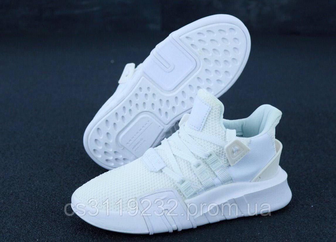 Женские кроссовки Adidas EQT (белые)