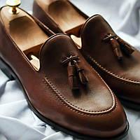 Туфли лоферы ІКОС 010-8 черные