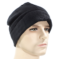 ➚Мужская шапка ESDY Y054 XL(60cm) Black теплая осень-зима флисовая ветрозащитная дышащая для туризма