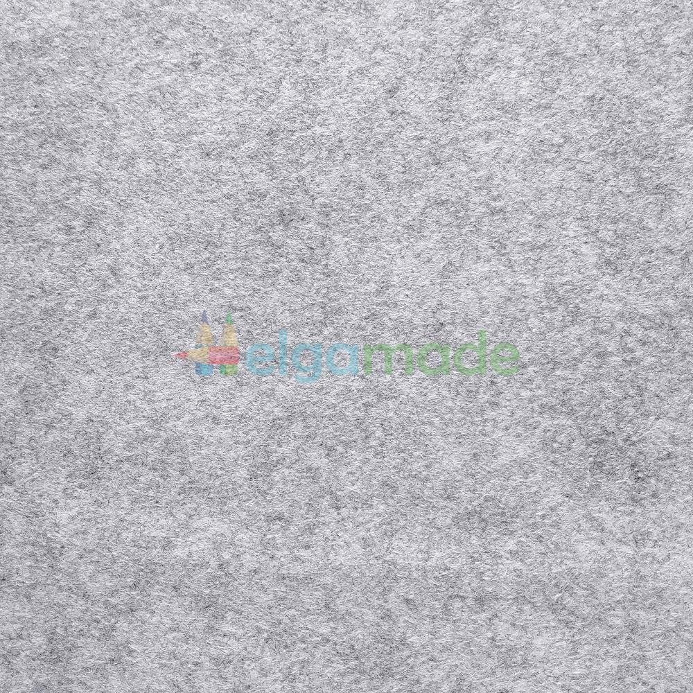 Фетр американский ДЫМЧАТЫЙ МРАМОР, 15x23 см, 1.3 мм, полушерстяной мягкий