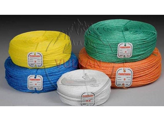 Полипропиленовый плетеный шнур Marmara 200 м (2.5, 3, 3.5, 4, 5, 6 мм)