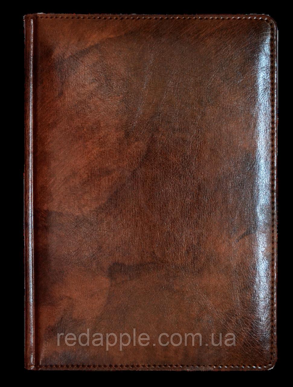 Ежедневник недат. А6 ЗВ-15 Madera коричневый