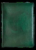 Ежедневник недат. А6 ЗВ-15 Madera зелёный