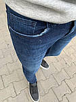 Мужские узкие джинсы (синие) - Турция, фото 2