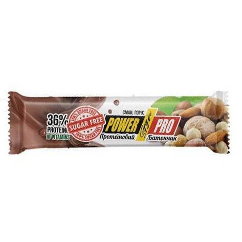 Протеиновый батончик без сахара Nutella Power Pro 32 % Sugar Free 60 г, фото 2