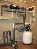 Монтаж оборудования для частных бассейнов
