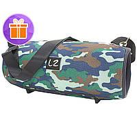 ☛Беспроводная колонка LZ Xtreme Camouflage портативная блютуз юсб с флешкой
