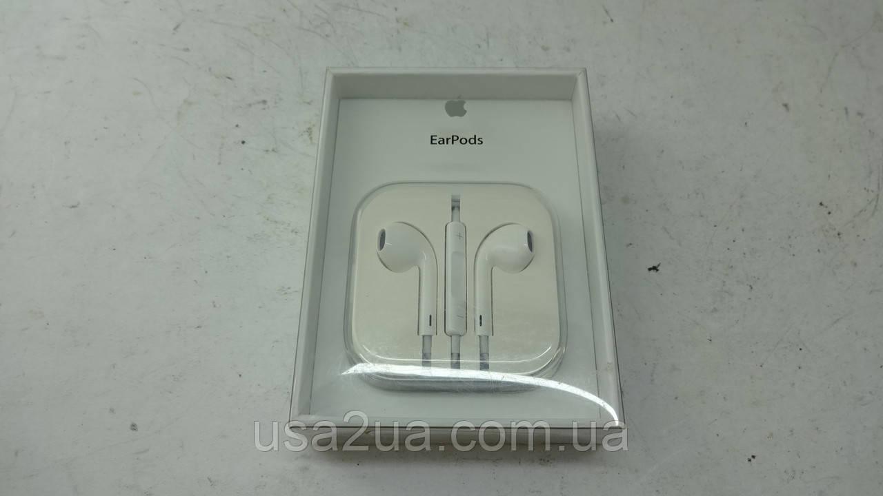 Apple Earpods Оригинальные наушники с пультом дистанционного управления и микрофоном (MD827LL/A)