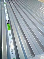 Профільний полікарбонат (прозорий шифер) Suntuf 1,26*6м сірий Solar Control