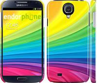 """Чехол на Samsung Galaxy S4 i9500 Радужные полоски """"2386c-13"""""""