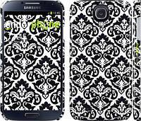 "Чехол на Samsung Galaxy S4 i9500 Черно-белый узор барокко ""1704c-13"""
