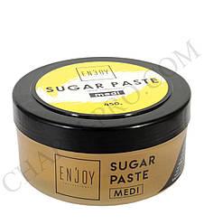 Сахарная паста для шугаринга ENJOY PROFESSIONAL GOLD COLLECTION MEDI  (450г)