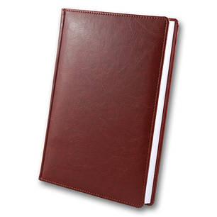 Ежедневник датированный 2020 BRISK OFFICE SARIF Стандарт А5 (14,2х20,3) красно-коричневый, фото 2