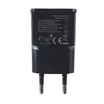 Зарядное устройство Lesko ETA-U90CBC Черное от сети 220В для смартфона и планшета, фото 2