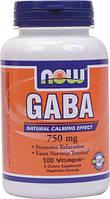 ГАБА / GABA / ГАМК (гамма-аминомасляная кислота), 750 мг 100 капсул