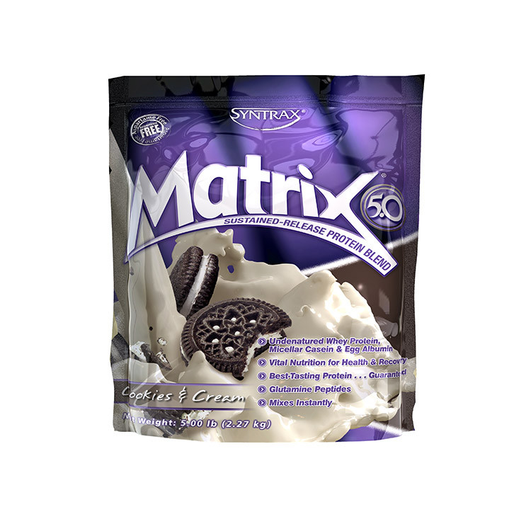 Комплексный протеин Syntrax Matrix (2,3 кг) синтракс матрикс банан