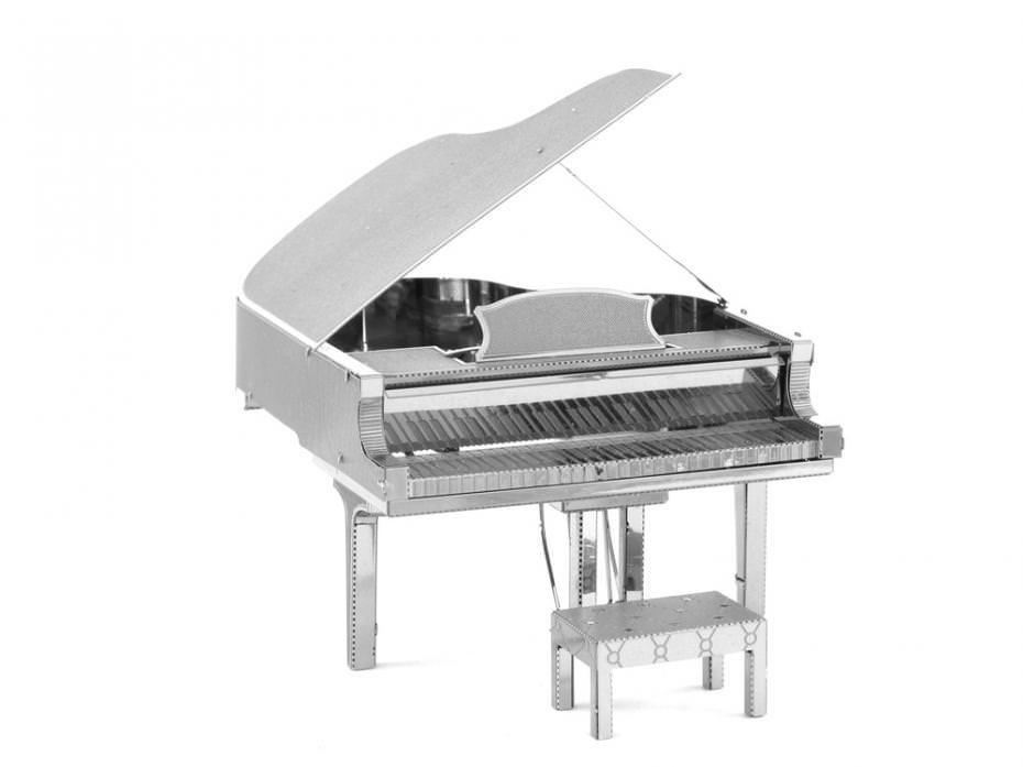 Металлический 3D конструктор Рояль