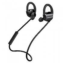 Bluetooth гарнитура ZEALOT H3 черная с контроллером музыкальная вакуумная телефонов смартфонов android iphone, фото 2