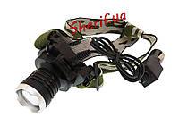 Налобный аккумуляторный фонарик Police Bailong BL-6809 30000W