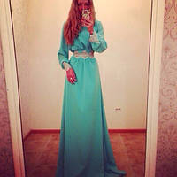 Вечернее платье Скарлет Ян  $