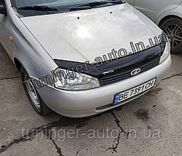 Мухобойка, дефлектор капота Lada Kalina 2004-2011 (Anv)