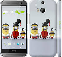 "Чехол на HTC One M8 dual sim Миньоны 2 ""294c-55"""