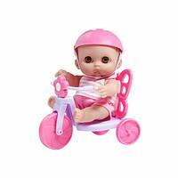 Игрушка Пупс JC Toys Мими на велосипеде, 22 см (JC16978) 4105037