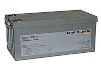 Аккумулятор мультигелевый Logicpower LP-MG 12V 250AH, (AGM) для ИБП