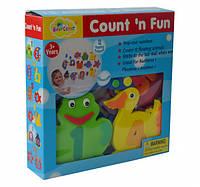 Аква-пазлы Baby Great Морские жители и циферки, 12 игрушек (GB-7623B) 5002029