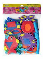 Аква-пазлы Baby Great Морские жители и фигуры, 9 игрушек (GB-7624) 5002030