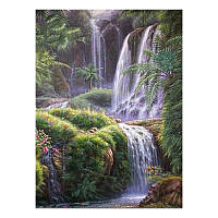 """Набор алмазной вышивки """"Тропический водопад"""", фото 1"""