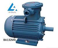 Взрывозащищенный электродвигатель ВА132М6 7,5кВт 1000об/мин