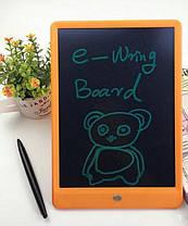 Планшет графический доска для рисования e-Writing Board 17.3x24.9 см. голубой, фото 3