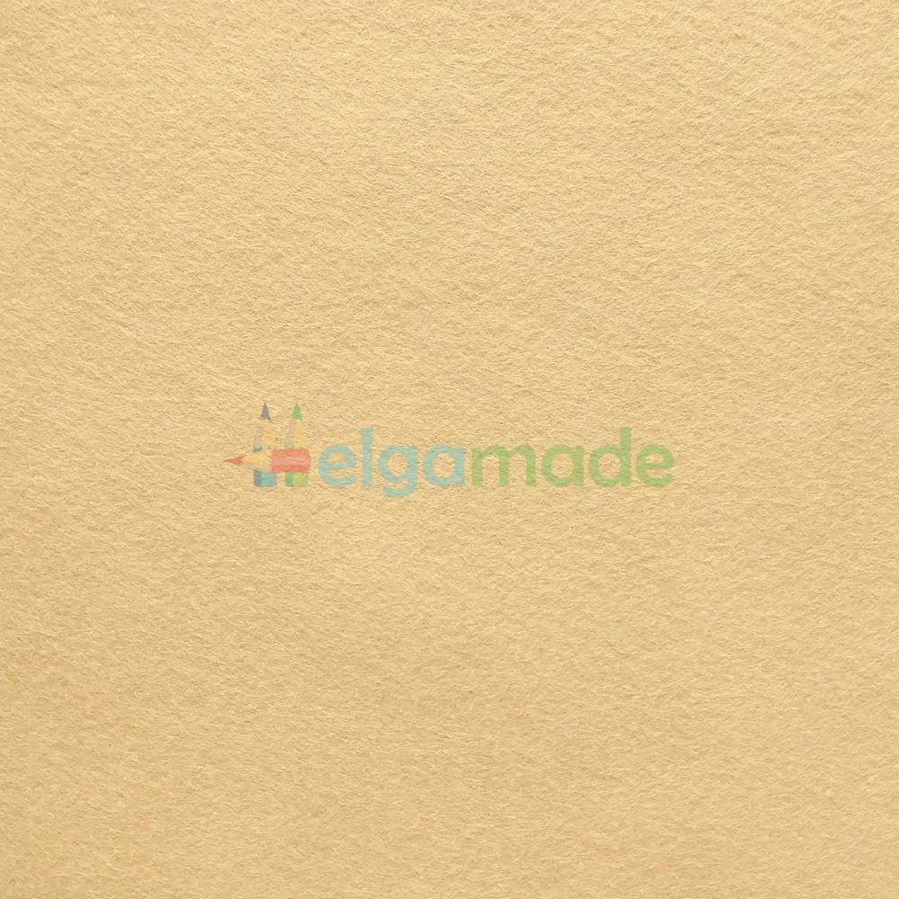 Фетр американський ПЛЯЖНИЙ ПІСОК, 23x31 см, 1.3 мм, напіввовняної м'який